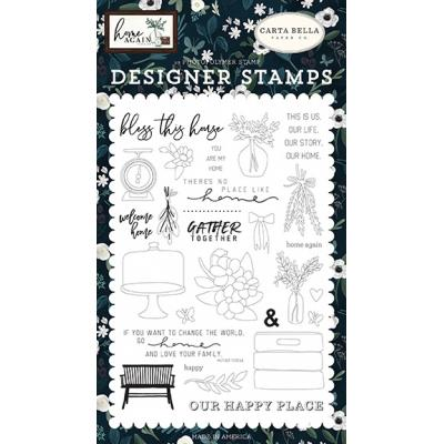 Carta Bella Home Again Clear Stamps - Gather Together