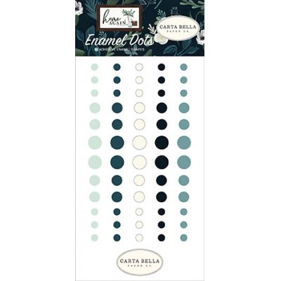 Carta Bella Home Again Embellishments - Enamel Dots