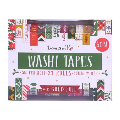 Dovecraft Washi Tape Box - Traditional