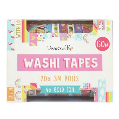 Dovecraft Washi Tape Box - Brights