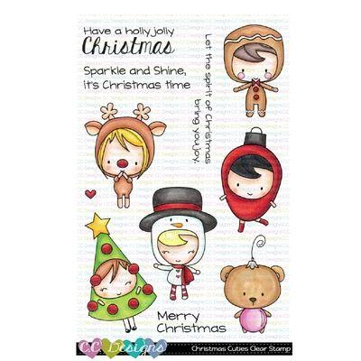 C.C. Designs Clear Stamps - Christmas Cuties
