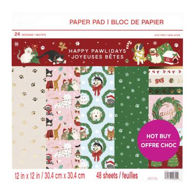 Craft Smith Paper Pad - Happy Pawlidays