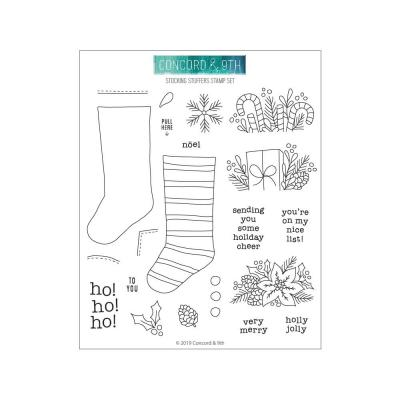 Concord & 9th Clear Stamps - Stocking Stuffers
