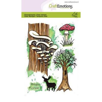 CraftEmotions Clear Stamps - Magic Forest 2