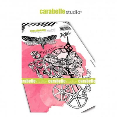 Carabelle Studio Cling Stamps - Chroniques Steampunk
