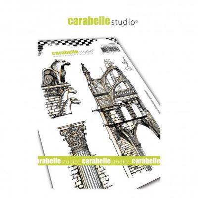 Carabelle Studio Cling Stamps - Gargouille Et Architecture