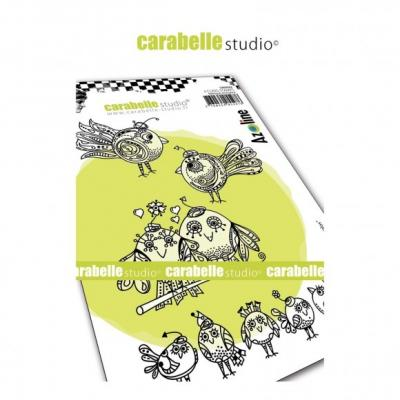 Carabelle Studio Cling Stamps - Zoziaux Rigolos