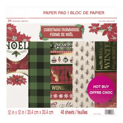Craft Smith Paper Pad - Christmas Farmhouse