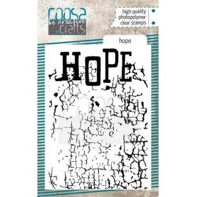COOSA Crafts Clear Stamp - Hope