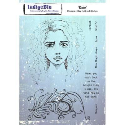 IndigoBlu Rubber Stamps - Kate