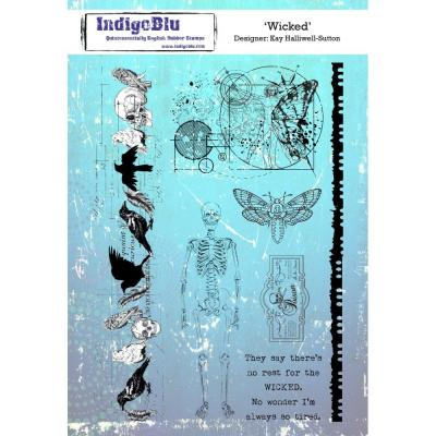 IndigoBlu Rubber Stamps - Wicked