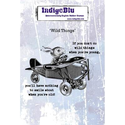 IndigoBlu Rubber Stamps - Wild Things