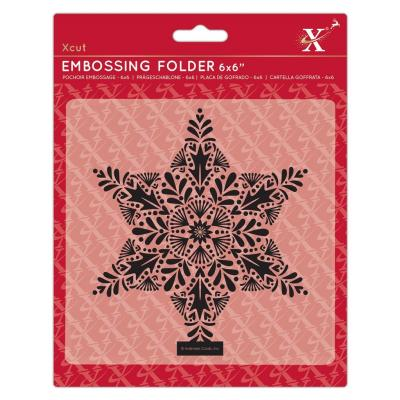Xcut Embossingfolder - Foliage Star