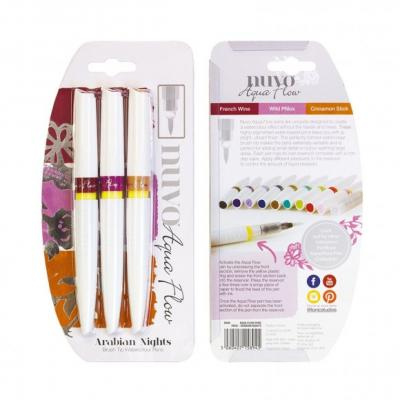 Tonic Studios Nuvo Aqua Flow Pens - Arabian Nights