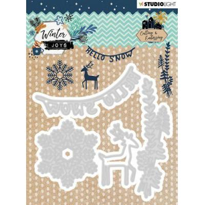 StudioLight Winter Joys Embossing Die - Nr 229
