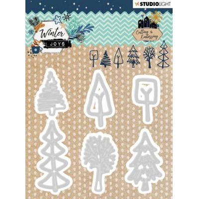 StudioLight Winter Joys Embossing Die - Nr. 227