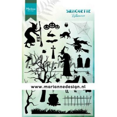 Marianne Design Clear Stamps - Silhouette Halloween