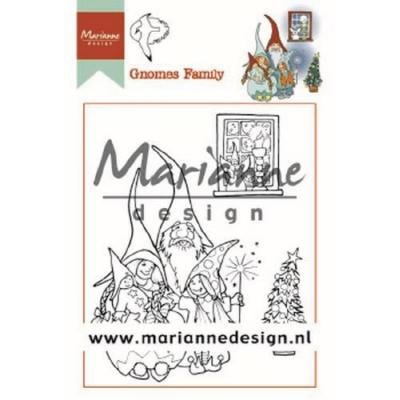 Marianne Design Clear Stamps - Gnomes Familie