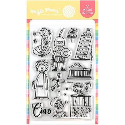 Waffle Flower Clear Stamps - Ciao