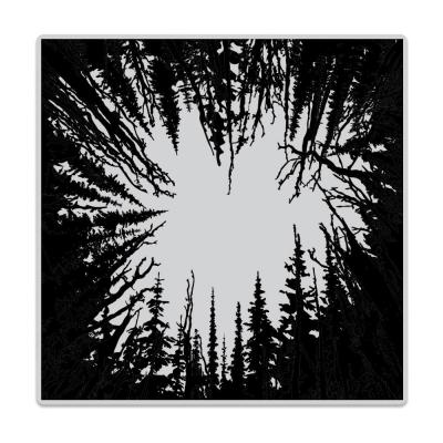 Hero Arts Cling Stamp - Cathedral Of Trees Bold Prints