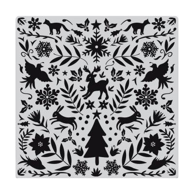 Hero Arts Cling Stamp - Nordic Holiday Bold Prints