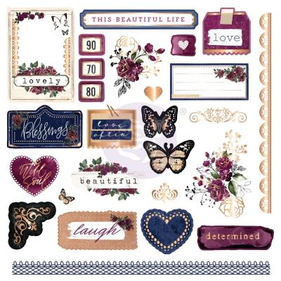 Prima Marketing Darcelle - Cardstock Ephemera