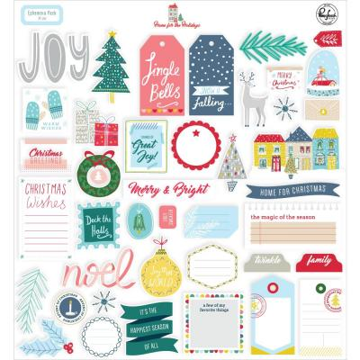 Pinkfresh Studio Die Cuts - Home For The Holidays