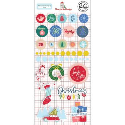Pinkfresh Studio Home For The Holidays - Mixed Embellishment Pack
