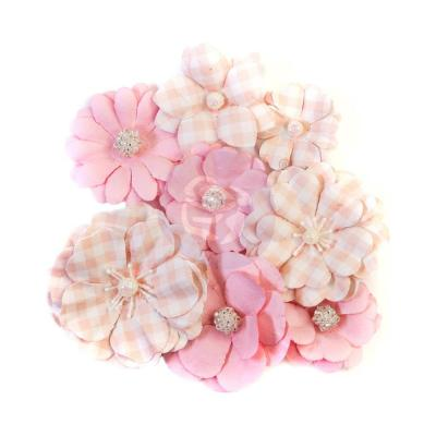 Prima Marketing Dulce Mulberry Paper Flowers Embellishments - Divina