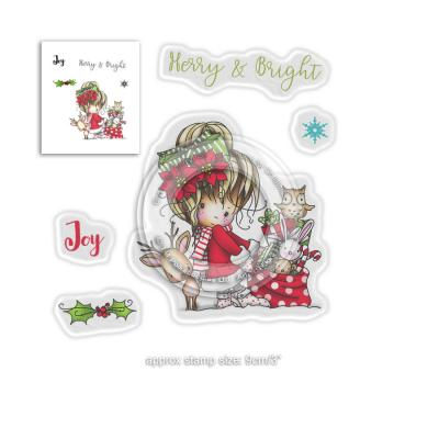 Polkadoodles Clear Stamps - Merry & Bright
