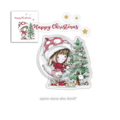Polkadoodles Clear Stamps - Christmas Tree