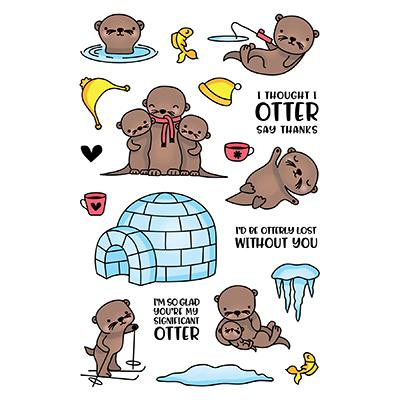 LDRS Creative Clear Stamps - Otterly Lovable
