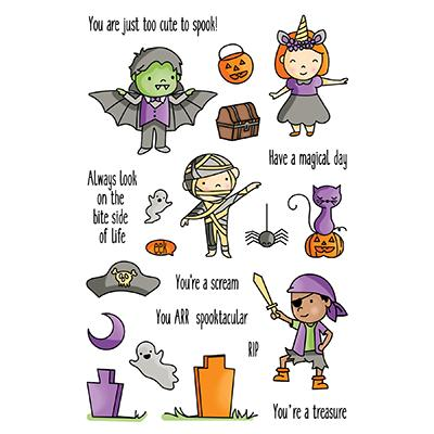 LDRS Creative Clear Stamps - Halloween High Jinks