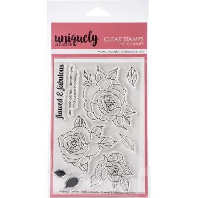 Uniquely Creative Clear Stamps - Flawed & Fabulous
