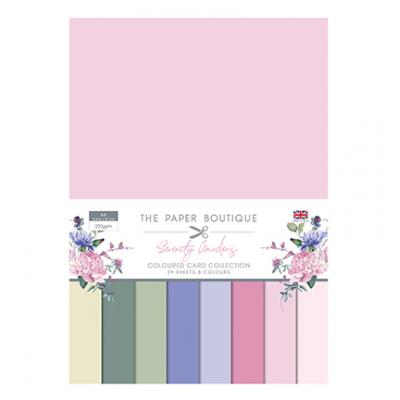 The Paper Boutique Serenity Gardens Cardstock - Colour Card Collection