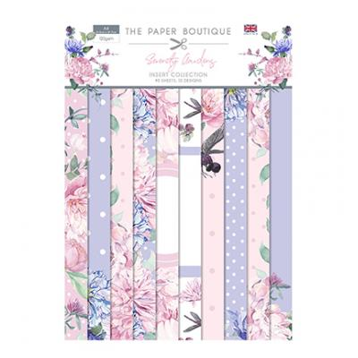 The Paper Boutique Serenity Gardens Designpapier - Insert Collection