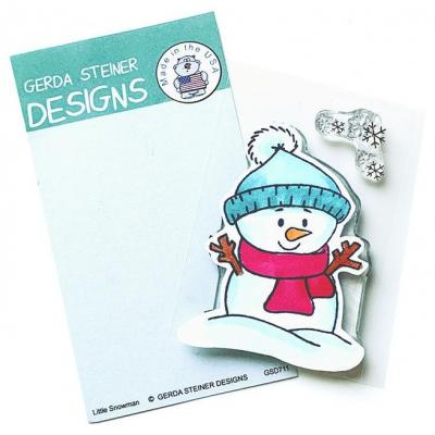Gerda Steiner Designs Clear Stamps - Little Snowman
