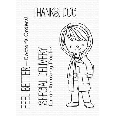 My Favorite Things Clear Stamps - Doctor's Orders
