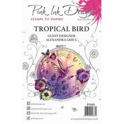 Creative Expressions Clear Stamps - Tropical Bird