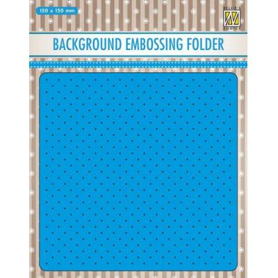 Nellie's Choice Embossing Folder - Hintergrund Kleine Punkte