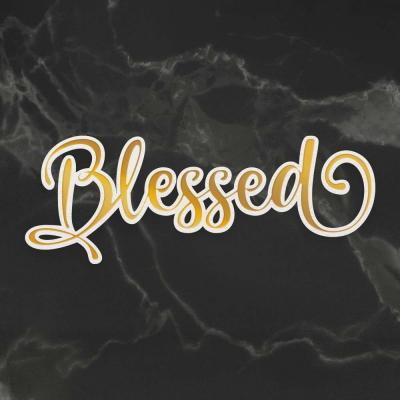 Couture Creations Cut, Foil and Emboss Die - Blessed