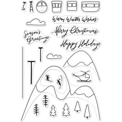 Hero Arts Clear Stamps - Ski Holiday