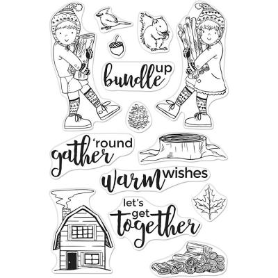 Hero Arts Clear Stamps - Bundle Up