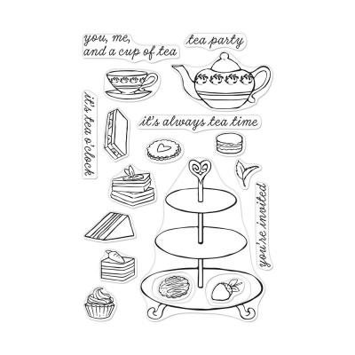 Hero Arts Clear Stamps - Tea Time
