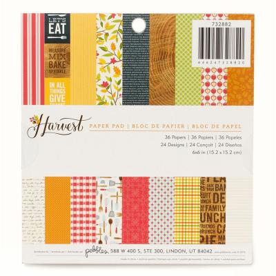 American Crafts Pebbles Designpapier - Harvest