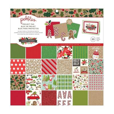American Crafts Pebbles Designpapier - Merry
