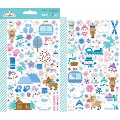 Doodlebug Winter Wonderland - Mini Icons Sticker