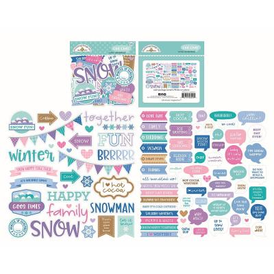 Doodlebug Winter Wonderland - Chit Chat