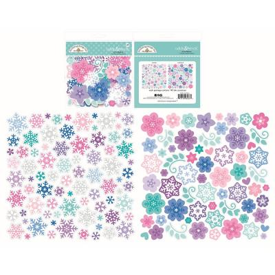 Doodlebug Winter Wonderland - Snowflakes Odds & Ends