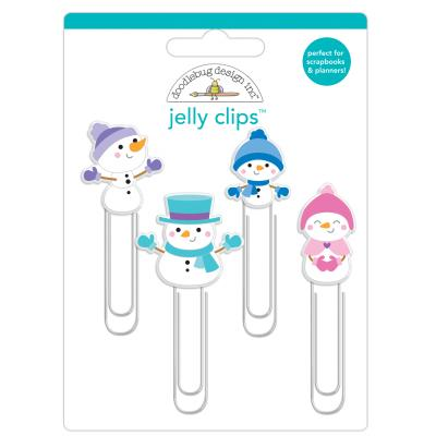 Doodlebug Winter Wonderland - Jelly Clips